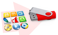 USB Card We can preload your Flash Drives with presentations, product catalogs or any other promotional materials you desire.
